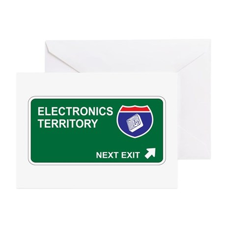 Electronics Territory Greeting Cards (Pk of 20)
