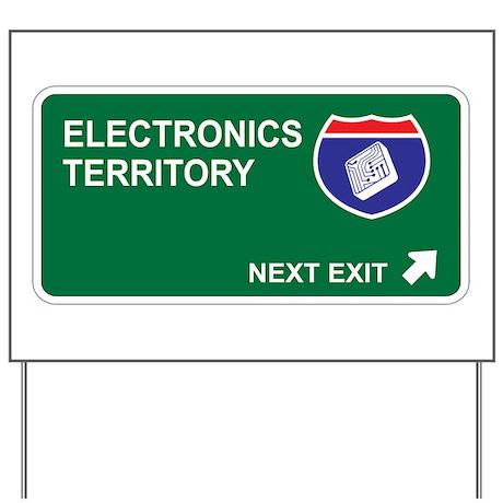 Electronics Territory Yard Sign