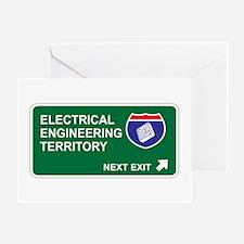 Electrical, Engineering Territory Greeting Card