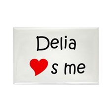 Delia Rectangle Magnet