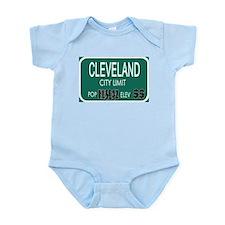 CLEVELAND -- T-shirts Infant Bodysuit