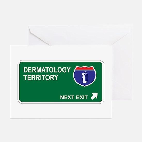 Dermatology Territory Greeting Cards (Pk of 10)