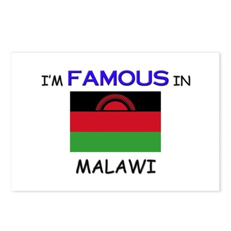 I'd Famous In MALAWI Postcards (Package of 8)