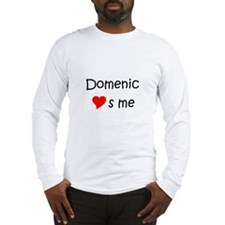 Love domenic Long Sleeve T-Shirt