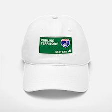 Curling Territory Baseball Baseball Cap