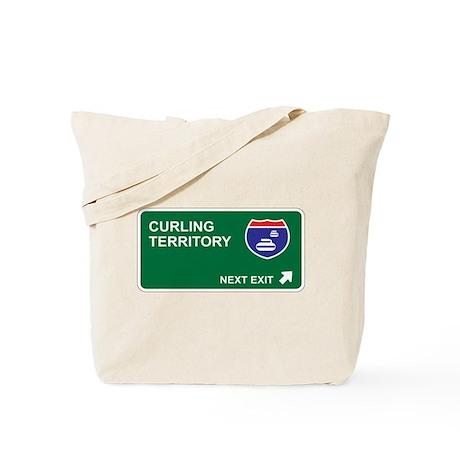 Curling Territory Tote Bag