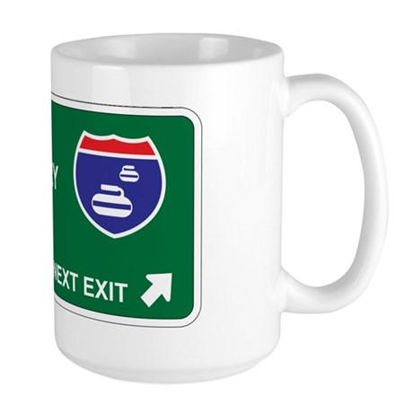 Curling Territory Large Mug