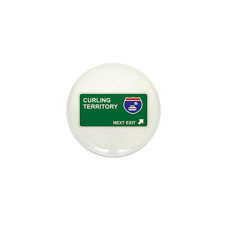 Curling Territory Mini Button (100 pack)