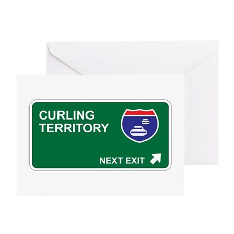 Curling Territory Greeting Cards (Pk of 20)