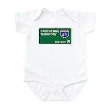 Crocheting Territory Infant Bodysuit
