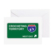 Crocheting Territory Greeting Card