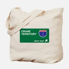 Crane Territory Tote Bag