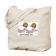 Bottoms Up! Twins Tote Bag
