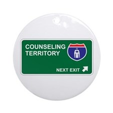 Counseling Territory Ornament (Round)