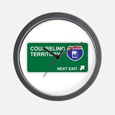 Counseling Territory Wall Clock