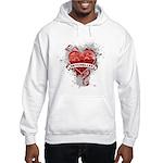 Heart Seychelles Hooded Sweatshirt