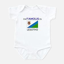 I'd Famous In LESOTHO Infant Bodysuit