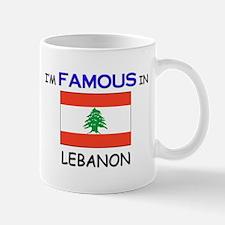 I'd Famous In LEBANON Small Small Mug