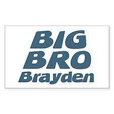 Big Bro Brayden Rectangle Decal