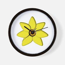 Daffodil Wall Clock