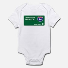 Concrete Territory Infant Bodysuit