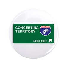 "Concertina Territory 3.5"" Button"