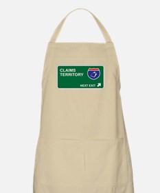 Claims Territory BBQ Apron