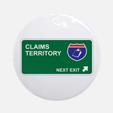 Claims Territory Ornament (Round)
