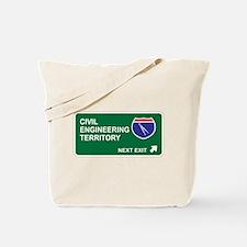 Civil, Engineering Territory Tote Bag