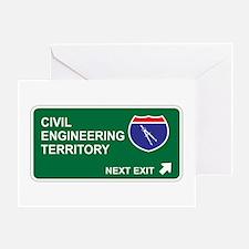 Civil, Engineering Territory Greeting Card