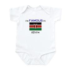 I'd Famous In KENYA Infant Bodysuit