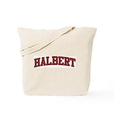 HALBERT Design Tote Bag