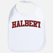 HALBERT Design Bib