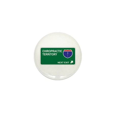 Chiropractic Territory Mini Button (10 pack)