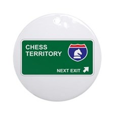Chess Territory Ornament (Round)