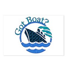 Got Boat? Postcards (Package of 8)