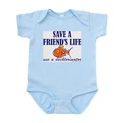 Save a life... dechlorinator. Infant Creeper