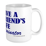 Save a life... dechlorinator. Large Mug