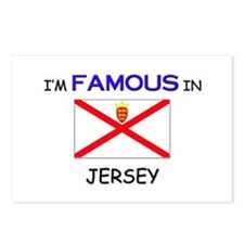I'd Famous In JERSEY Postcards (Package of 8)
