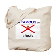 I'd Famous In JERSEY Tote Bag