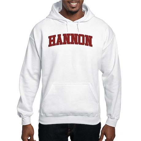 HANNON Design Hooded Sweatshirt
