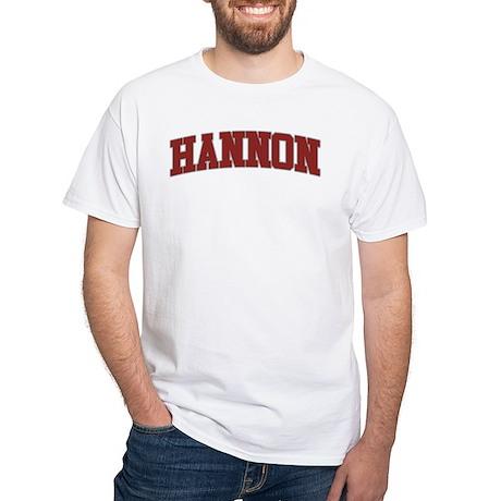 HANNON Design White T-Shirt