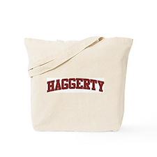 HAGGERTY Design Tote Bag