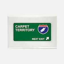 Carpet Territory Rectangle Magnet