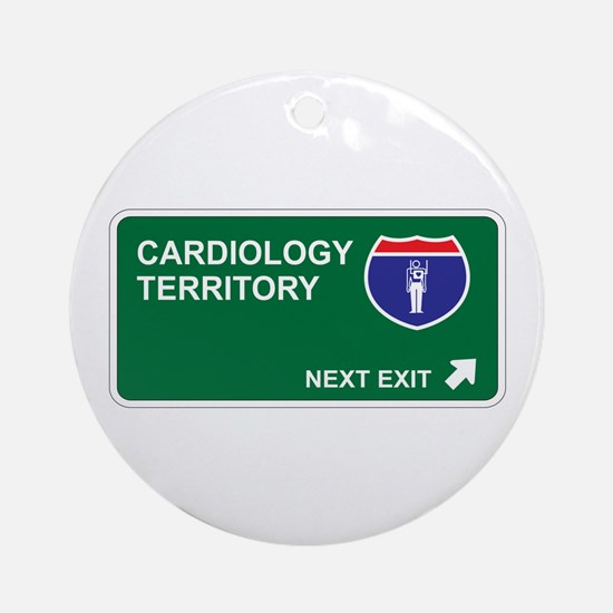 Cardiology Territory Ornament (Round)