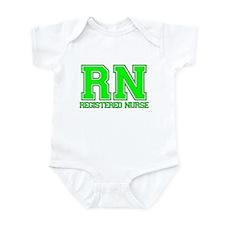 RN_green Infant Bodysuit