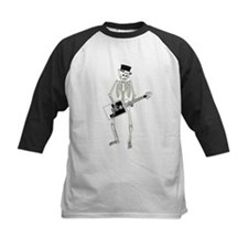 Skeleton Guitar Player Tee