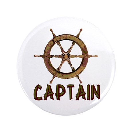 "Captain 3.5"" Button"