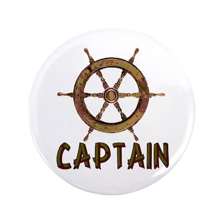 """Captain 3.5"""" Button (100 pack)"""