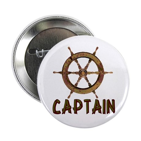 "Captain 2.25"" Button (100 pack)"